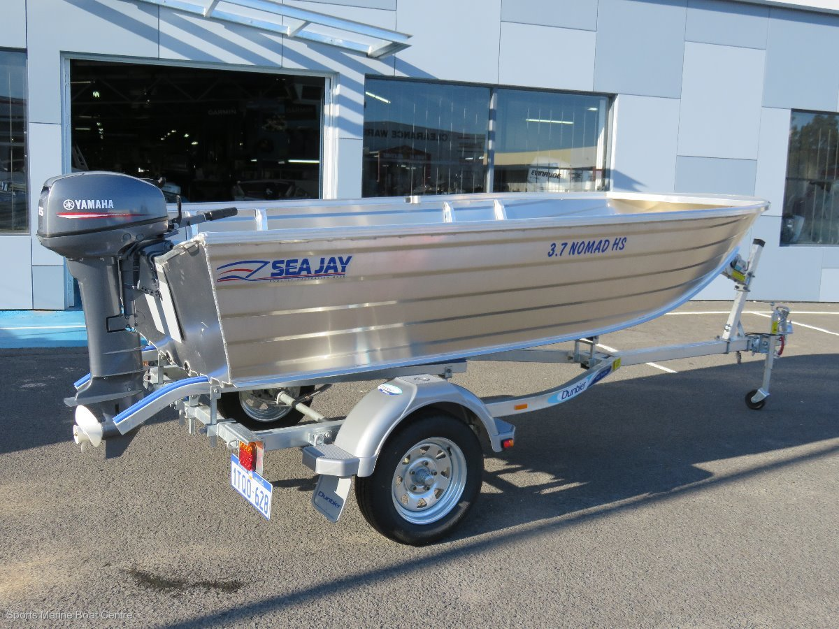New Sea Jay 37 Nomad High Side Trailer Boats Boats