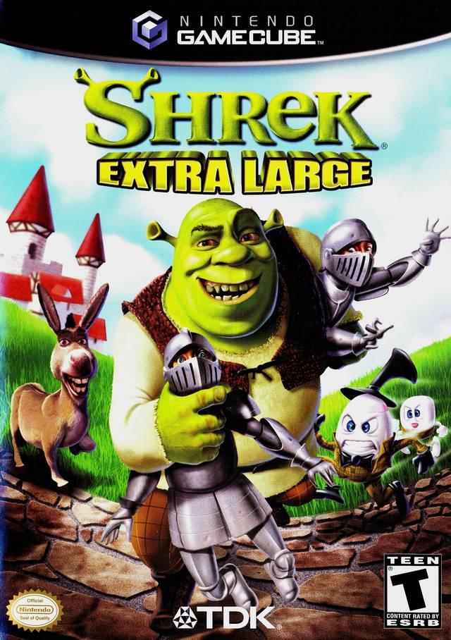 Shrek Extra Large Usa Gamecube Iso