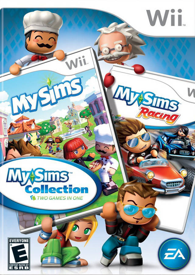 mysims party wii iso