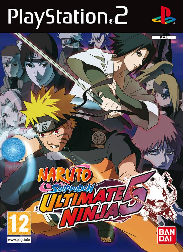 Naruto Shippuden Ultimate Ninja 5 Europe Ps2 Iso