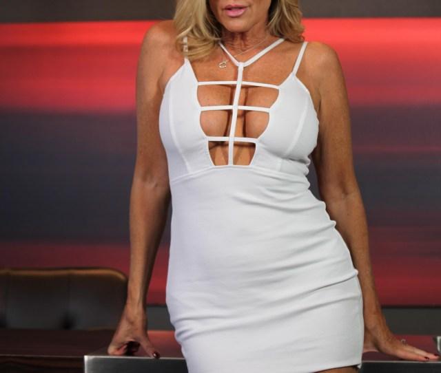 Jodi West In Sexy White Dress