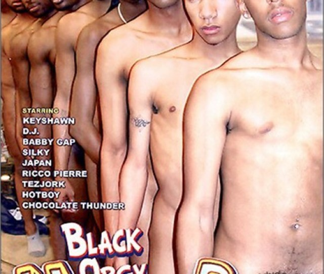 Black Orgy House Party Boxcover