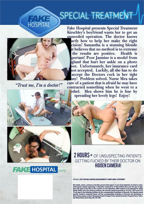 Fake Hospital Presents Special Treatment Adult Dvd