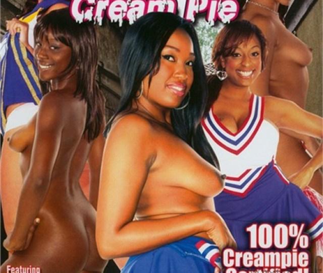 Black Cheerleader Cream Pie
