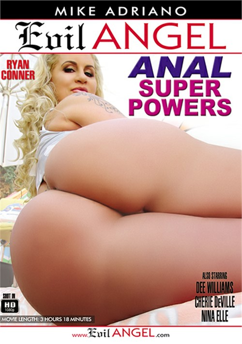 Anal Super Powers Porn DVD by Evil Angel
