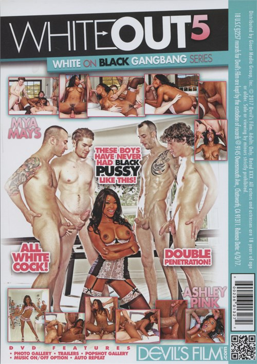White Out 5 Porn DVD from Devil's Film