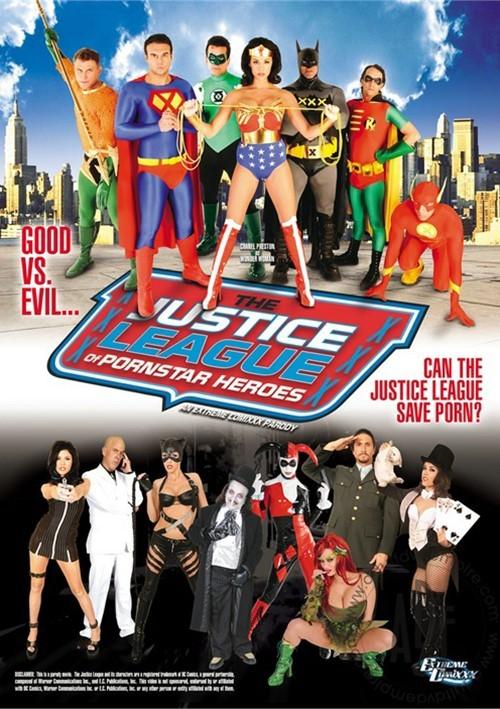 The Justice League of Pornstar Heroes XXX: An Extreme Comixxx Parody Movie