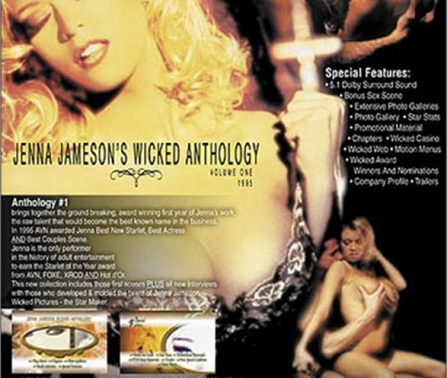 Jenna Jamesons Wicked Anthology