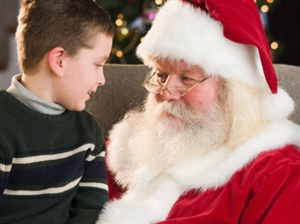 Fly to meet Santa from Blackpool Airport