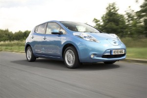 Gatwick Airport welcomes the Nissan LEAF