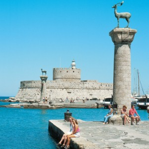 Greece making a comeback as arrivals at Rhodes increase