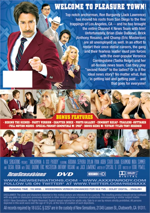 Anchorman: A XXX Parody New Sensations Porn