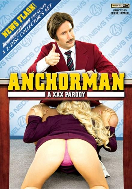 Anchorman XXX Parody DVD New Sensations 2 Disc Collector's Set