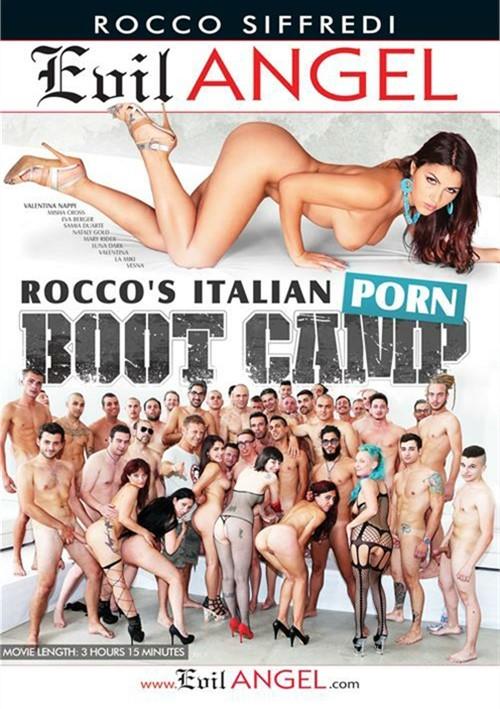 Rocco's Italian Porn Boot Camp Evil Angel porno