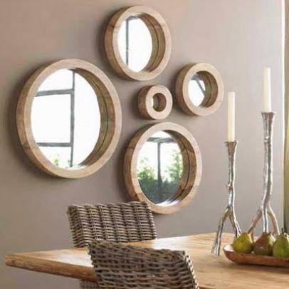 Jogos de espelhos podem ter várias funções, basta colocá-los em posições estratégicas - Reprodução/Internet
