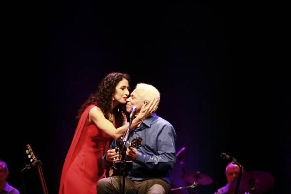 Marisa Monte e Paulinho da Viola fazem um dos shows mais aguardados do ano (Léo Aversa/Divulgação)