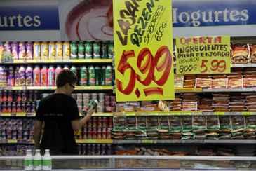 No Grande Recife, preços ficaram praticamente estáveis entre maio e junho (Elio Rizzo/Esp. CB/D.A Press)