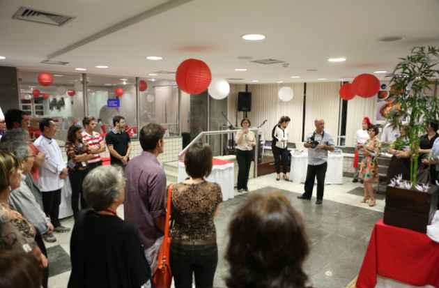 Evento reuniu além dos seis restaurantes pernambucanos, membros da Associação Nordestina dos Ex-Bolsistas e Estagiários no Japão (Anbej) e da Associação de Cultura Japonesa no Recife (ACJR) (Bernardo Dantas/ DP/D.A Press.)