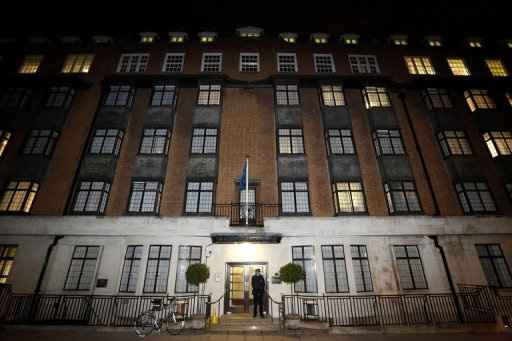 Fachada do hospital King Edward VII, em Londres, em 3 de dezembro, quando Kate Middletone ainda estava internada. Foto: Justin Tallis/ AFP Photo