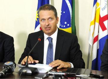 O governador informou sobre o prazo durante a primeira reunião do ano com seu secretariado (Raul Buarque/SEI)