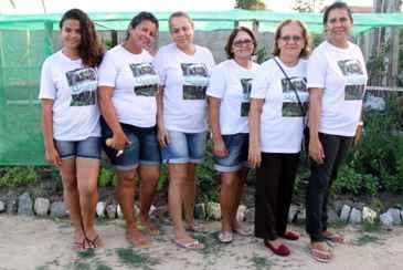 Jamilly, Jaqueline, Aparecida, Célia, Neuza e Djane mudaram a rotina depois que entraram no projeto. Foto: Nando Chiappetta/DP/D.A Press