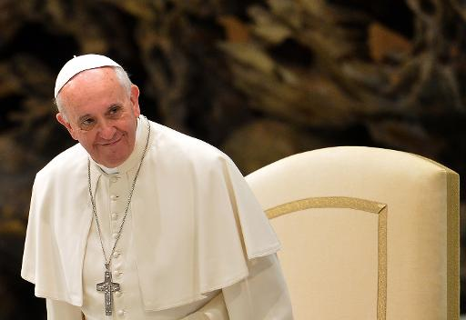 Papa Francisco. Foto: Alberto Pizzoli/AFP Photo