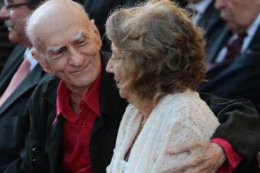 Ariano em uma das mais muitas ocasiões em que foi acompanhado pela esposa Zélia. Foto: Nando Chiappetta/DP/D.A Press
