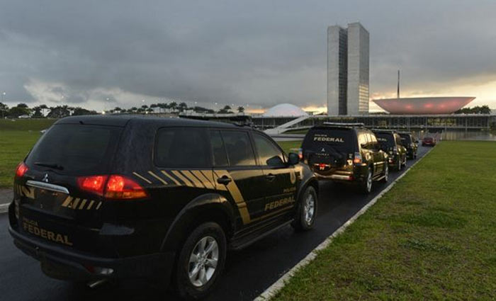 Resultado de imagem para Policiais Federais no Congresso Nacional estão fortemente armados e quatro já foram presos