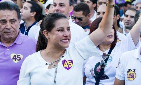 Resultado de imagem para Raquel Lyra, do PSDB, é eleita prefeita de Caruaru no 2º turno das eleições