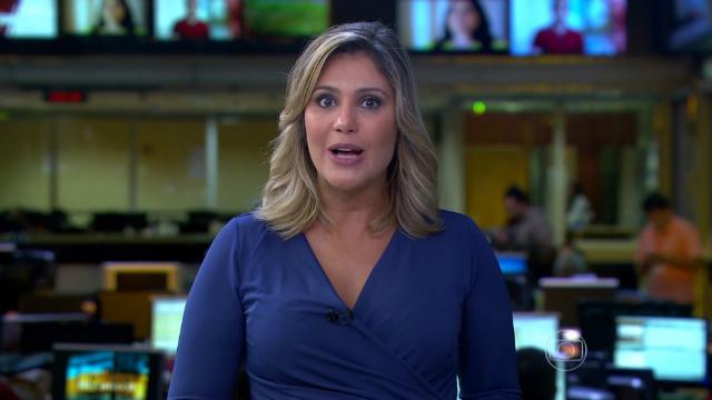 Flavia chegou a substituir âncoras nos telejornais e apresentar o Jornal Hoje aos sábados. Foto: TV Globo/Reprodução