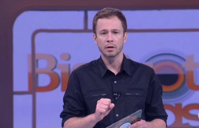 A edição BBB18 é a segunda comandada por Tiago Leifert. Foto: Globo