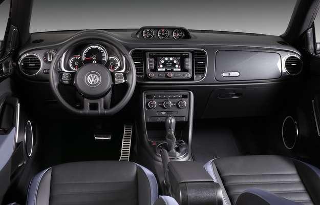 Tecnologia de ponta e acabamento no melhor estilo Audi dentro do Fusca (Volkswagen/divulgação)