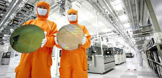 Modelos de semicondutores, fabricados em Seul, que serão produzidos pela CBS (REUTERS/Hynix/Handout )