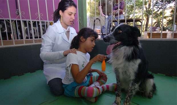 Na Apae de Sabará, em Minas Gerais, a técnica já é utilizada com sucesso (Cristina Horta/EM/D.A Press )