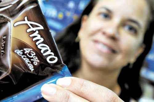 Mônica Miranda só come chocolates com percentual acima de 55%: 'O problema é que não consigo achar' (Carlos Vieira/CB/D.A Prees)