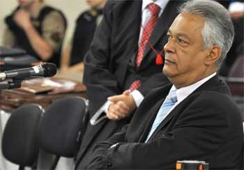 Depoimento de Edson Moreira foi explorado pela defesa (Renata Caldeira/TJMG. )
