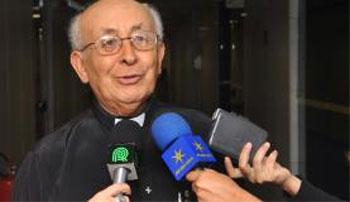 O bispo emérito da cidade de Goiás, dom Tomás Balduíno (Valter Campanato/Agência Brasil )