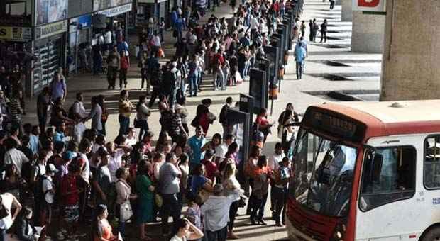 Ao todo, cerca de 11 mil profissionais atuam no sistema rodoviário do DF e cinco empresas operam o transporte público (Monique Renne/CB/D.A Press)