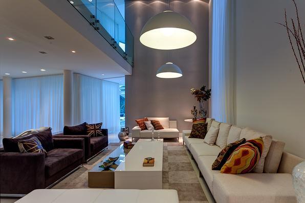 Projeto da arquiteta Isabella Magalhães em uma residencia em Ibirité com mim metros quadrados - Gustavo Xavier/Divulgação