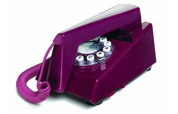 O Telefone Trim em estilo retrô é vendido por R$ 305  (Divulgação)