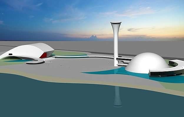 Complexo engloba aquário, mirante com vista panorâmica para a cidade, central de ensino profissionalizante para atividades de pesca e anfiteatro  (Perspectiva/Divulgação)