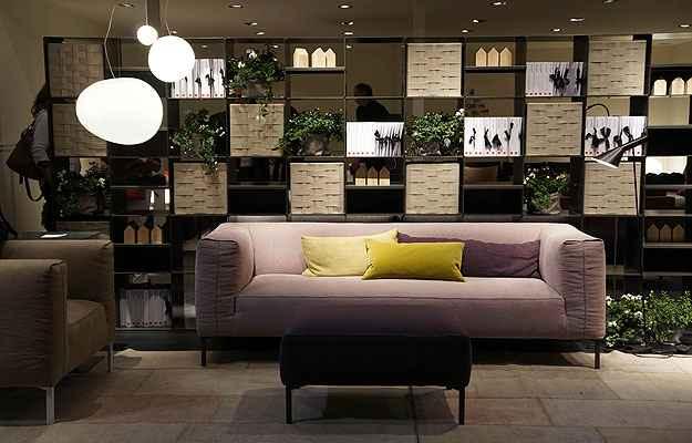 Nos pavilhões não se poupam investimentos para criar ambientes dos sonhos (Paola Campos/Divulgação)
