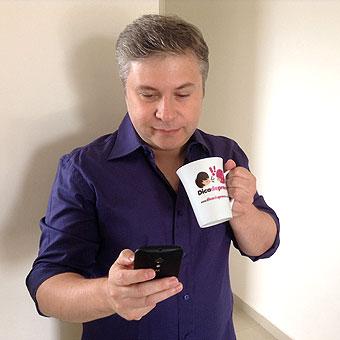Criador do aplicativo Dica de Preço, Leonídio de Oliveira Filho diz que cada um pode dar suas dicas, que são compartilhadas (Imagem/Divulgação)