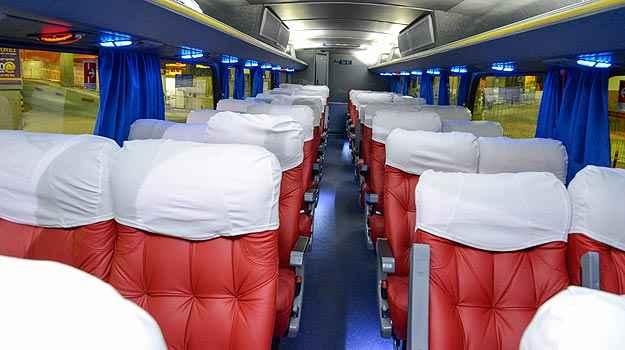 Preço da passagem é o mesmo de uma viagem em ônibus executivo (Thiago Ventura/EM/D.A Press)
