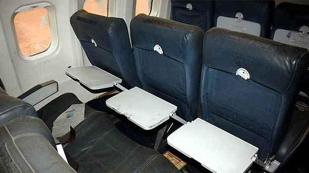 Poltronas em couro foram preservadas (Skyliner-aviation.de/Divulgação)