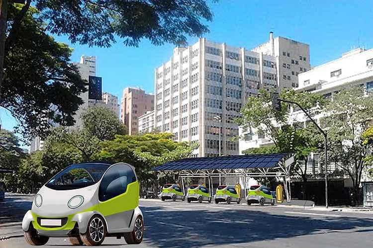 Sistema terá estações em pontos estratégicos para incentivar que motorista deixe o carro em casa - D%u2019Prado / Fillipe Souza / Divulgação