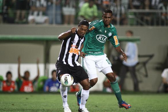 Lances do duelo entre Atlético e Palmeiras no Independência - Rodrigo Clemente/EM/D. A Press