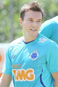 Atacante Dagoberto é uma das esperanças do time celeste (Rodrigo Clemente/EM/D.A Press.)