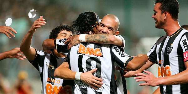 Galo dá novo show no Independência e goleia Arsenal: 5 a 2 (Alexandre Guzanshe/EM/D.A Press)
