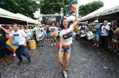 Foliões da capital aproveitam o Suvaco da Asa ao som de muito frevo - Ed Alves/CB/D.A Press